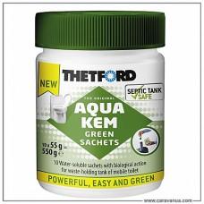 Порошок для биотуалета Aqua Kem Sachets Green