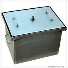 Коптильня горячего копчения с гидрозатвором (400х300х280)