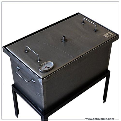 Автоматические коптильни горячего копчения – современные аппараты для копчения мяса, рыбы, колбас, сыра, морепродуктов и овощей.