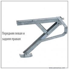 Опора SPNDL KLAPP, передня ліва і задня права, 600 кг