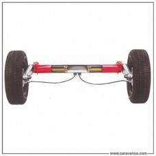 Ось 3500 кг с тормозом наката, E-KT Plus
