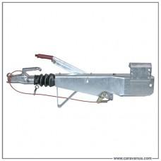 Тормоз наката четырехгранный 161S, 950-1600 кг, петля NATO (76 мм), квадрат 100 мм