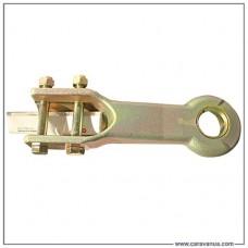 Провушина буксирувальна DIN 40 мм для гальма накату 351VB, PROFI V3500, 161S, 2.8VB1-C, монтаж зверху