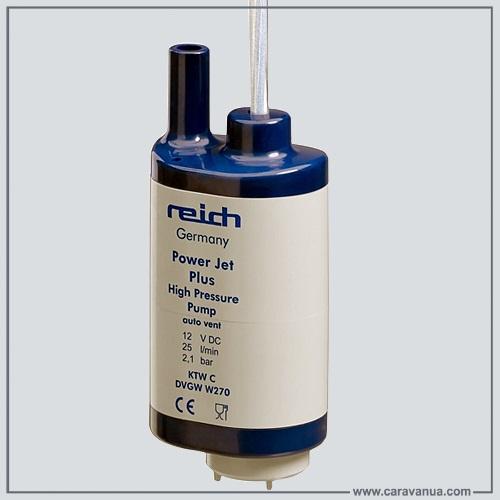 Насос водяной Reich, Power Jet Plus, 25 l/min, 2.1 bar, 12 Volt